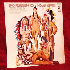 LP 1910 FRUITGUM CO. INDIAN GIVER 1969 BUDDAH SEALED