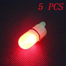 5 PCS Red LED light night fishing lamp luminous stick fishing Light SALES 09