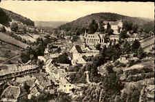 STOLBERG Harz DDR alte s/w AK Blick Trauermantel Berg alte Postkarte um 1960