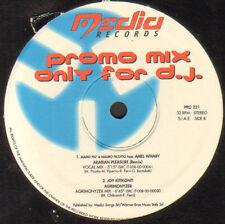 VARIOUS (MARIO PIU / PLASTIK / MARIO PIU & MARIO PICOTTO) - Promo Mix 221