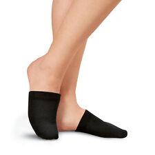 1 Pair Toe Toppers Socks Toe Cover Slings Mules Sandal Black Special