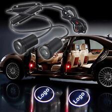 2X LED Türlogo Laser 3D Logo Türbeleuchtung 6W Projector Lampe Licht Für Jeep