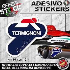 Adesivo/Sticker TERMIGNONI REPARTO CORSE DUCATI HONDA MVAGUSTA 200°gradi EXAUST