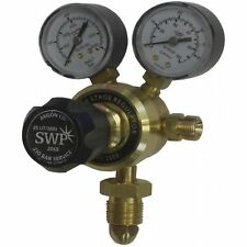 SWP WELDING PRODUCTS 2068 ARGON SINGLE STAGE 2 GAUGE REGULATOR QTY 1