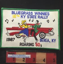 BEREA KENTUCKY JACKET PATCH ROARING 60s Winnies Winnebago Rally 1987 T-BIRD C63E