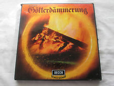 WAGNER GOTTERDAMMERUNG - 1965 STEREO DECCA SONIC STAGE 6 VINLY LP BOXSET SET.296