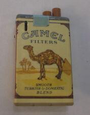 Vintage Camel Filters Cigarette Pack Cigarette Lighter