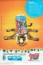 PUBLICITE ADVERTISING 066  2002  Coca-Cola light  soda astro perso Scorpion