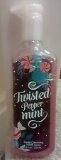 * Bath and Body Works Deep Cleansing Hand Soap Twisted Peppermint *
