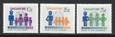 SINGAPORE MNH 1983 SG451-3 Neighborhood Watch Scheme