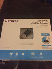 NETGEAR N300 WiFi Mini USB Adapter (WNA3100M) Brand New!!