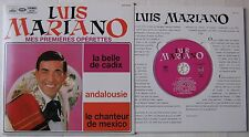 LUIS MARIANO  (CD) MES PREMIERES OPERETTES  RARE POCHETTE FORMAT 25CM CLUB DIAL