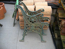 Antique / vintage heavy cast iron bench ends ( several pairs available)