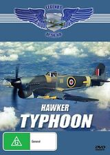 HAWKER TYPHOON - LEGENDS OF THE AIR - NEW DVD FREE LOCAL POST