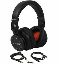 M-Audio HDH50 Black Studio/DJ High Definition Reference Headphones 50mm Drivers