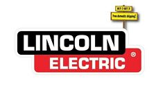 "Lincoln Electric Welder Replacement Decal/Sticker 3"" x 8.4"" Die Cut"