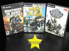 OFFERTA STOCK 3 GIOCHI SHOOTER MEN OF VALOR BROTHERS HIDDEN PC USED ITA STOCK142