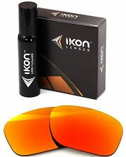 Polarized IKON Iridium Replacement Lenses For Oakley Sideways Fire Mirror