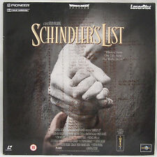SCHINDLERS LIST Widescreen Edition Laser Disc Film - PAL -FREE POSTAGE!