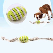 Puppy Dog Pet Toy Cotton Braided Bone Rope Chew Knot Pet Dog Funny Play Toy NEW