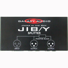 Galaxy Audio JIBY Jacks in the Box 2 Way XLR Splitter