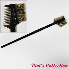 Plastic Eyebrow Duo Comb Eyelash Lash Extension Brush Makeup Premium Quality