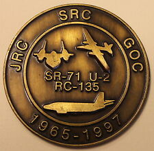 Global Operations Center SR-71 U-2 RC-135 Joint Strategic Recon Challenge Coin