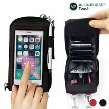 ALL IN 1 TOUCH MOBILE SMART PHONE SMARTPHONE IPHONE ANDROID WALLET PURSE CASE