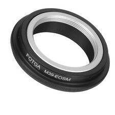 FOTGA Adapter Ring f Leica M39 L39 Mount Lens to Canon EOS EFM Mirrorless Camera