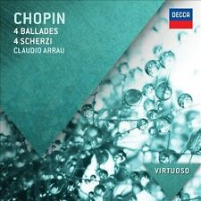 NEW Chopin: Ballades & Scherzi by Claudio  Piano Arrau CD (CD) Free P&H