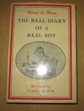 The Real Diary of a Real Boy Shute, Henry A. SIGNED by Tasha Tudor in jacket