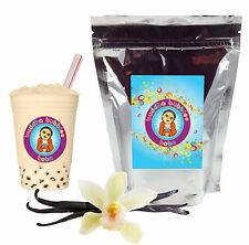 Vanilla Latte Boba/ Bubble Tea Powder by Buddha Bubbles Boba (1 Pound)