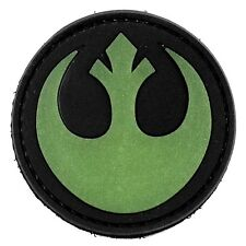 PVC Velcro Morale Patch Star Wars Rebel Alliance Airsoft Military Tactical GLOW