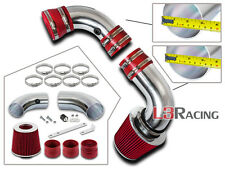 RED COLD AIR INDUCTION INTAKE Kit + Filter For CHEVY 96-05 S10 Blazer 4.3L V6
