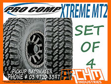 (SET OF 4) 37x12.5R17 PRO COMP XTREME MT2 MUD TERRAIN TYRES - PICKUP BAYSWATER