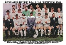 DONCASTER ROVERS TEAM PRINT 1969 (DIVISION 4 CHAMPIONS)