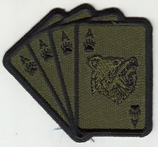 VAW-124 BEAR ACE OD GREEN CARD SHOULDER PATCH
