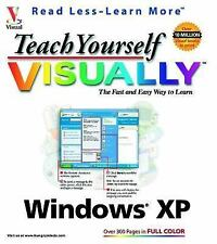 Visual Teach Yourself VISUALLY Windows XP by Ruth Maran (2001, Paperback)