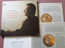 SLS 909 ED1 Verdi: Requiem Mass - Carlo Maria Giulini NM