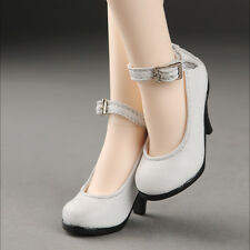 DOLLMORE NEW 1/4 BJD SCALE MSD(high heels)Shoes - Basic Shoes (White)