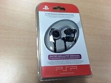PSP In-Ear Headset with Remote Control  Sony PSP 2000 3000 New Factory Sealed