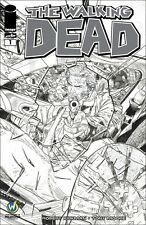 Walking Dead Wizard World Comic Con Philadelphia Exclusive b/w Cover Clay Mann