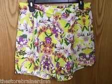 JOE FRESH - TEEN - SHORTS - FLORAL - SIZE 14   (AC-17-820)