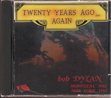 bob dylan twenty years ago again montreal 1962 new york 1961 cd