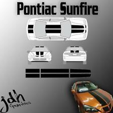 Pontiac Sunfire Rally Racing Stripes Vinyl Decal Graphics Kit Easy Install