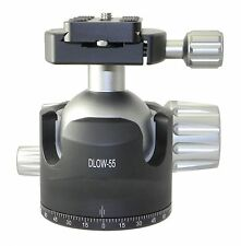 Desmond DLOW-55 55mm Low Profile Ball Head Arca / RRS Compatible w Pan Lock