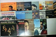 Tennessee Ernie Ford Collection of 35 albums EX
