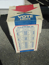 1979 MLBB All-Star Game Collection. Ballot Box, Program, Photos, etc.