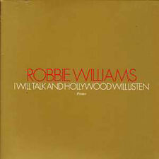 CD Single Robbie WILLIAMS I Will Talk And Hollywood PRO