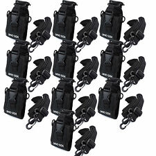 10X Radio Case Holder Bag for Kenwood/Yaesu/Icom Motorola GP328+/338+/344 HT750